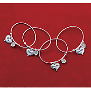 Family Heart Bangle