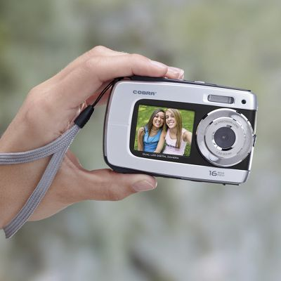 Cobra Digital 16MP Dual Display Digital Camera