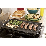 rachael ray hard anodized double grill