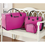 Personalized 3-Piece Weekender Set