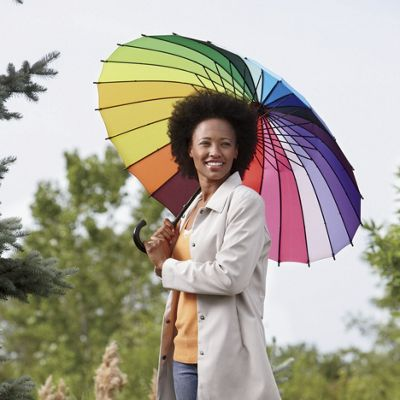 24-Color Rainbow Umbrella