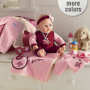 Babydoll Set With Personalized Blanket
