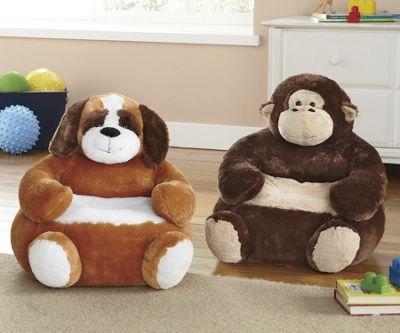 Plush Animal Chair