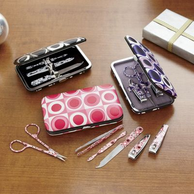 Retro Dots Manicure Set