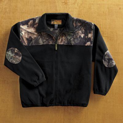 Fleece Camo Pullover