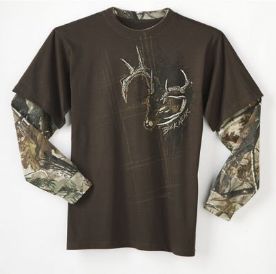 Long Sleeve Buck T-shirt
