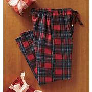 Fleece Plaid Pants