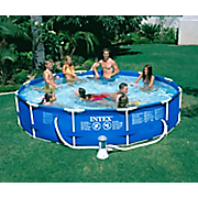 Intex 12 f x 30 inch Metal Frame Swimming Pool