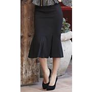 Fishtail Ponté Knit Skirt