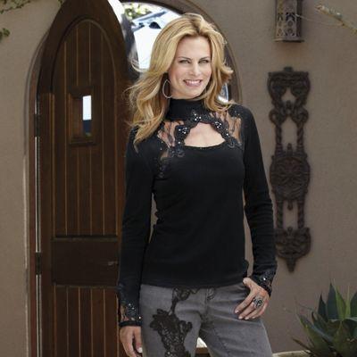 Simonette Lace Sweater