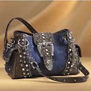 western studded bag