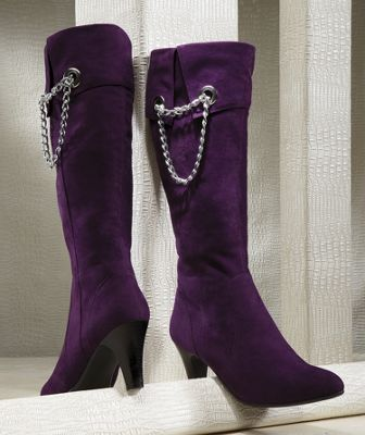 Side Chain Boot by Midnight Velvet