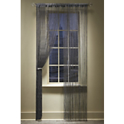 stardust lounge lurex string curtain panel
