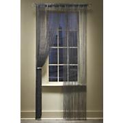 stardust lounge lurex string curtain panel
