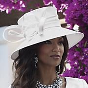 Shantung Lampshade Hat