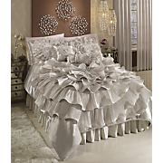 bejeweled romance comforter sham bedskirt pillows and window treatments