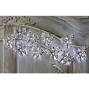 butterfly silvertone light string