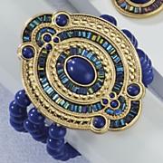 Santorini Blue Beaded Bracelet