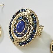 santorini oval stretch ring