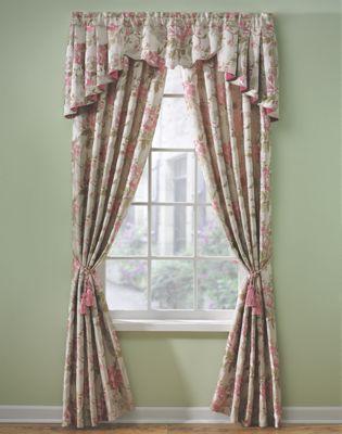 Heirloom Rose Window Treatments