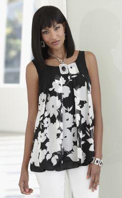 Tiffany Floral Tunic