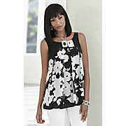 tiffany floral tunic
