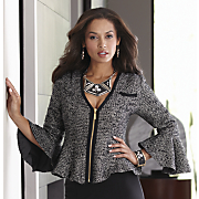 fishtail boucle jacket 29