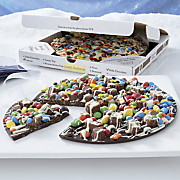 chocolate pizzas