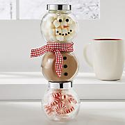 snowman cocoa set