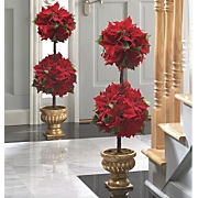 Topiary, Poinsettia...