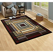 Ambience Hand carved Rug