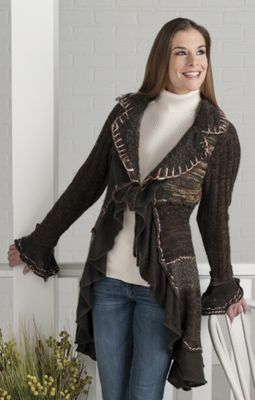 Chocolate Patch Sweater