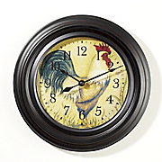 rooster clock 1
