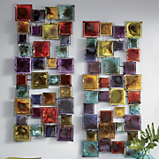 Set of 2 Hip Squares Wall Art