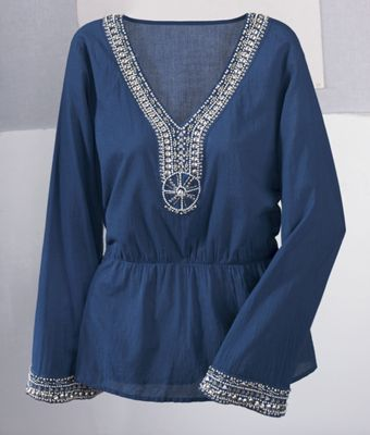 Isis Beaded Top
