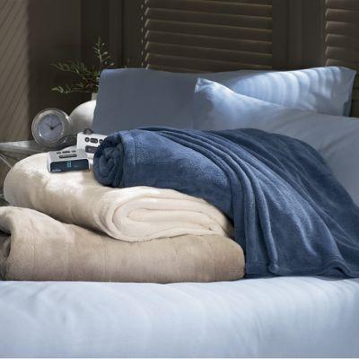 Microplush Electric Blanket by Sunbeam