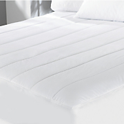 Quilted Electric Mattress Pad By Sunbeam