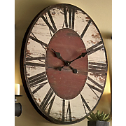 Grand Antiqued Clock