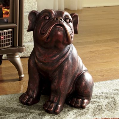 Bones the Bulldog Statue