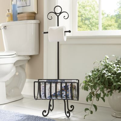 Magazine & Toilet Paper Holder