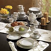 47 piece Regency Gold Dinnerware Set