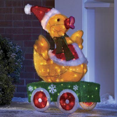 Animated Santa Duck