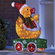 Animated Santa Duck