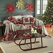 Cobertor p/muebles Poinsettia