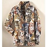Cats Meow Fleece Jacket