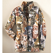 Cats Meow Fleece Jacket