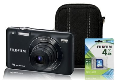 16 MP Camera Kit with HD Video by Fuji