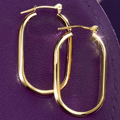 Oblong Hoops