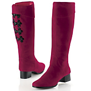 Classique Red Cuff Boot