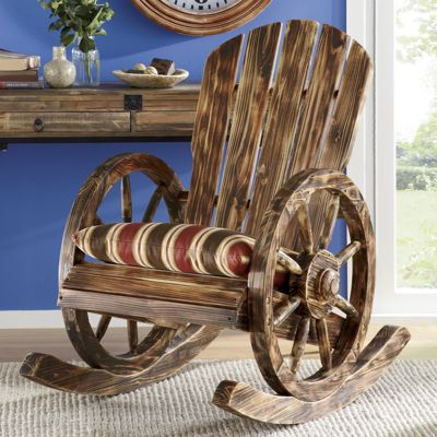 Wagon Wheel Rocker
